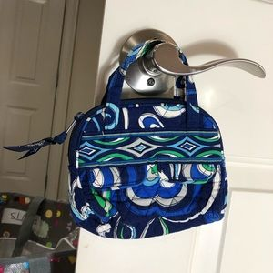 Vera Bradley Mediterranean blue Small Case Bag